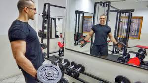 when ing wall mirrors for your home gym
