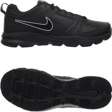 details about nike t lite xi black or white men s leather trainers sneaker athletic shoes new