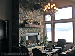 faux wood mantel image by faux wood beam fireplace mantels uk