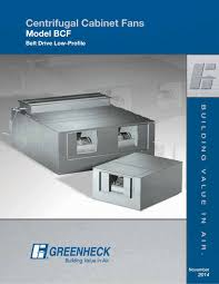 belt drive cabinet fans model bcf greenheck pdf catalogue regarding proportions 1000 x 1294