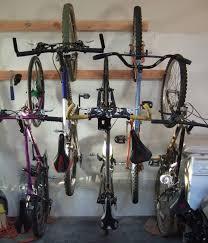 image of bike storage racks for garage type