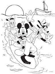 best mickey mouse new years coloring pages archives gobel cartoon printable coloring sheets