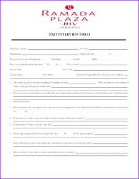 Employee Clearance Form Stunning Product 44 Exit Interview Form Also Employee Me Format Template