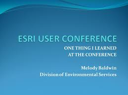 ONE THING I LEARNED AT THE CONFERENCE Melody Baldwin Division of  Environmental Services. - ppt download