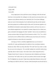 essay description of a place english writing essay  5 pages essay 1 about me