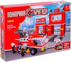<b>Конструктор Ausini Пожарная бригада</b> 21602 купить недорого в ...
