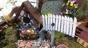 make your own fairy garden fence flea