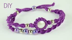 Macrame Bracelet Patterns Classy Macrame Double Bracelet Tutorial YouTube