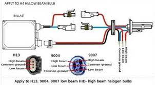 35w h4 h4 2 xenon hid conversion kit slim ballast amp bulbs hid xenon kit wiring diagram