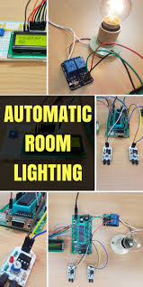 Automatic Room Lighting System Using Microcontroller Home