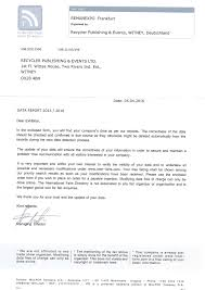 new exhibitor registration scam appears the recycler the latest scam letter received by the recycler