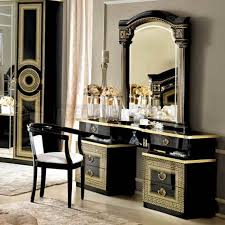 dressing room furniture. Perfect Room Aida  Classic Italian Dressing Table Black U0026 Gold  On Sale Now In Room Furniture