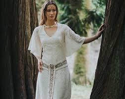 celtic wedding dress etsy