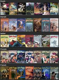 ur user chihirosen and redditor atlakorra s collections of harry potter book covers from around the world