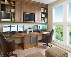 two desk office. Wonderful Double Desk Ideas With Simple Office Also  On Decorating Home Two Desk Office