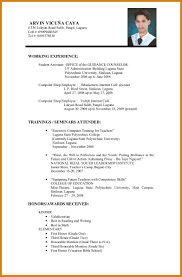 Resume Format For Company Job Resume Format For Company Job Letter Format Template 14