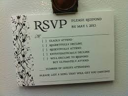 How To Reply To Wedding Rsvp Card 9 Hilarious Wedding Invitations That Simply Cant Be Ignored
