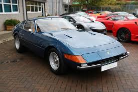 Ferrari 365 gtb/4 scaglietti prototipo serial# 11929 in september of 1968, ferrari gtb/4 daytona prototype #11929 was produced as the 4th of 6 prototypes, and was the very first daytona built by carrozzerria scaglietti in the final daytona production style. Ferrari 365 Gtb 4 Daytona Classiche Certified For Sale In Ashford Kent Simon Furlonger Specialist Cars