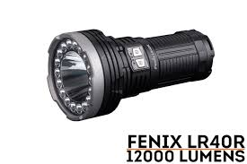 Fenix Lights Fenix Lr40r Rechargeable 12000 Lumen Flashlight