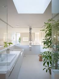suppose design office. Contemporary Residential Interior Design Minimalist Bathroom House In Hidaka By Suppose Office