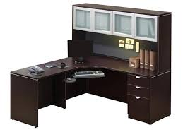 office corner desk with hutch