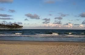 garden city sc beach. Pier At Garden City Sc Beach