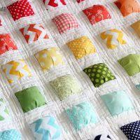 puff quilt tutorial Archives - Honeybear Lane & New Puff Quilt Pattern: 'Puffy Island' Adamdwight.com