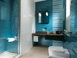 blue bathroom designs. Bathroom:Aqua Blue Bathroom With Stunning Brown Floating Vanity Sink Uunder Small Square Wall Mirror Designs I