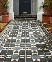 grosvenor black blue tile