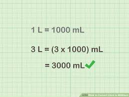 How To Convert Liters To Milliliters With Unit Converter