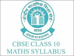 Cbse Class 10 Maths Syllabus For Year 2018 19 Times Of India