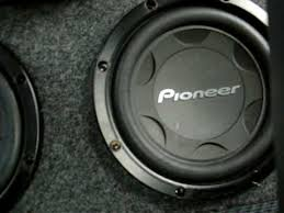 pioneer 15 inch subwoofer. pioneer 12 inch 4000 watt subwoofers with 1600 amplifier - youtube 15 subwoofer