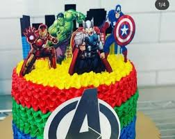 Prices will vary according to size and design. Avengers Cake Topper Hulk Captain America Black Widow Etsy