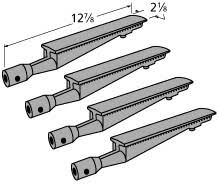kenmore iron. kenmore p02001006c p1935 gas bbq grill burner cast iron part - 4 pack