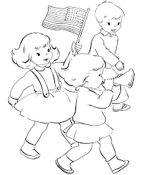 Small Picture Kids And American Flag Coloring Page Flags Coloring pages of