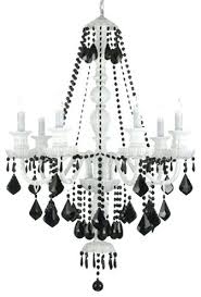 black and white chandelier elegant black and white chandelier black and white chandelier chandeliers design black