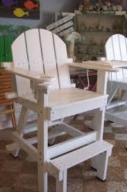 tall adirondack chair plans. Interesting Tall GoneCoastal Original Lifeguard Chair  With Tall Adirondack Plans
