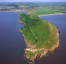 Image result for brean down romano british temple