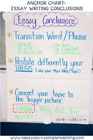 The Best Anchor Charts Writing Anchor Charts Conclusion