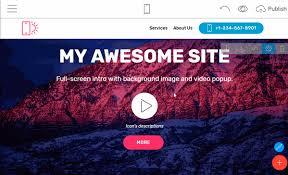 online free website creation free website builder software