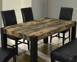 distressed black dining room table. Modern Distressed Dining Room Sets Black Set, 1620, Monarch 5 Table