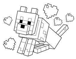 minecraft coloring pages printable coloring pages free printable coloring minecraft animal coloring pages printable