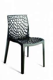 designer look plastic outdoor chair