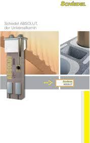 Schiedel Absolut Der Universalkamin Abs Pdf Free Download