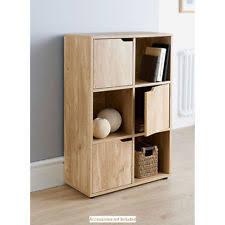 office cube door. 6 Cube 3 Door Shelves Wooden Storage Unit Display Shelving Bookcase Office C