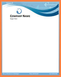 letterhead in word format 5 company letterhead word template company letterhead