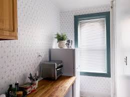 apply l and stick adhesive wallpaper