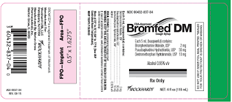Prototypal Bromfed Dm Cough Syrup Dosage Chart 2019