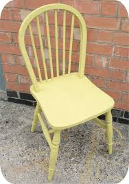 yellow chalk painted chair awesome chalk paint furniture ideas