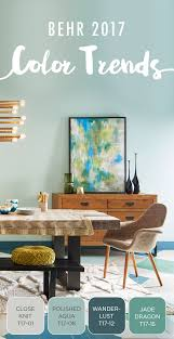 capturing the eclectic modern aesthetic you love is easier than ever thanks to this paint combination refresh your home s dining room with behr s new